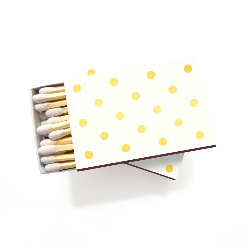 Polka Dot Matchboxes - Set of 6 - Tea and Becky