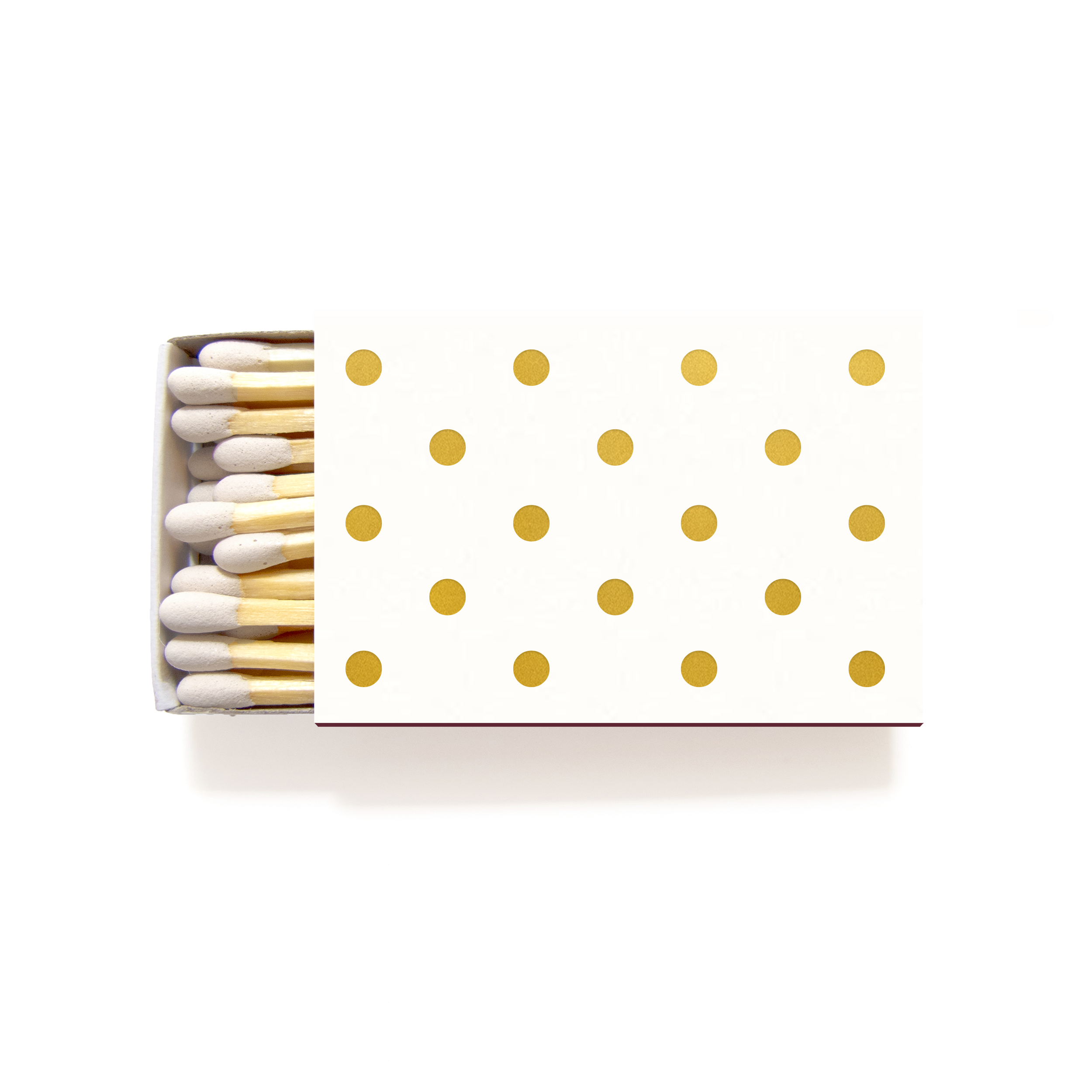 Polka Dot Matchboxes - Personalized Foil Matches - Sandy Collection ...