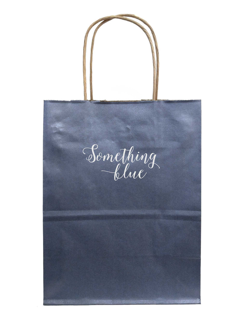 Something Blue Gift Bags - Tea and Becky