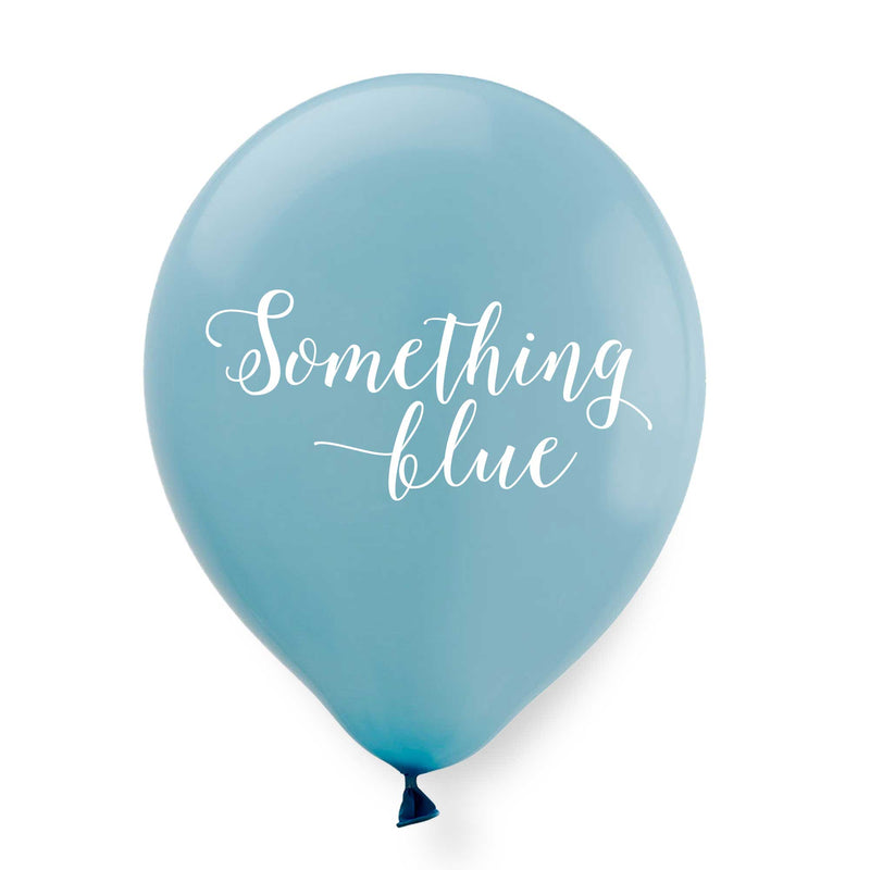 Something Blue Balloons - Tea and Becky