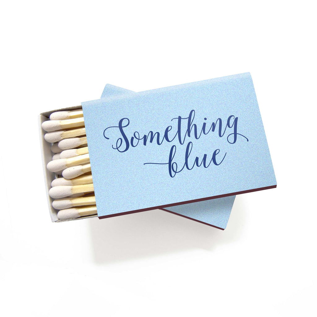 Something Blue Matchboxes - Set of 6 - Tea and Becky