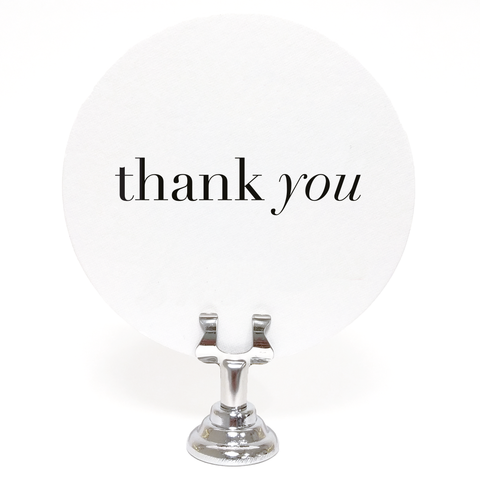 Thank You Coasters – Set of 25 - Tea and Becky