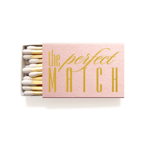 The Perfect Match Matchboxes - Personalized Matches - Carrie Collection - Tea and Becky