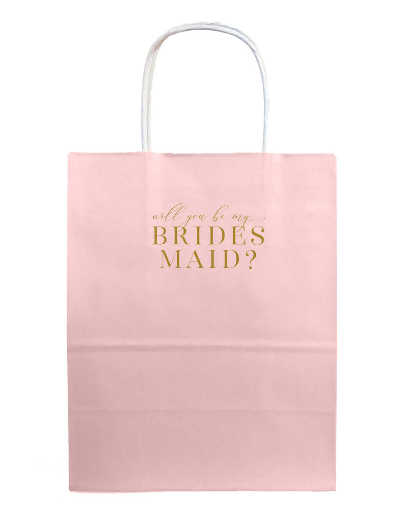 Will You Be My Bridesmaid Bags - Tea and Becky