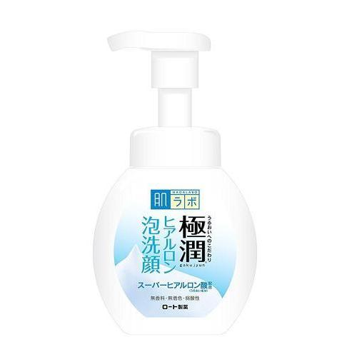 HADA LABO - Goku-jyun Hyaluronic Foam Facial Wash 160ml