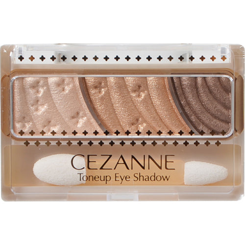 CEZANNE - Toneup Eye Shadow 01 Natural Brown - Sakura Cosme Canada