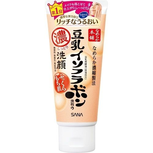 SANA - Nameraka Honpo Soy Milk Isoflavone Cleansing Face Wash