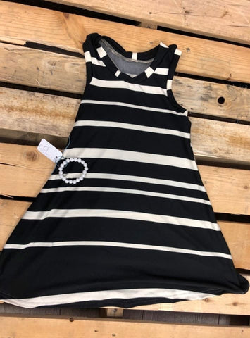 Striped Racerback Dress