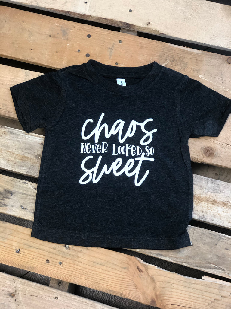 Chaos never looked so Sweet tee