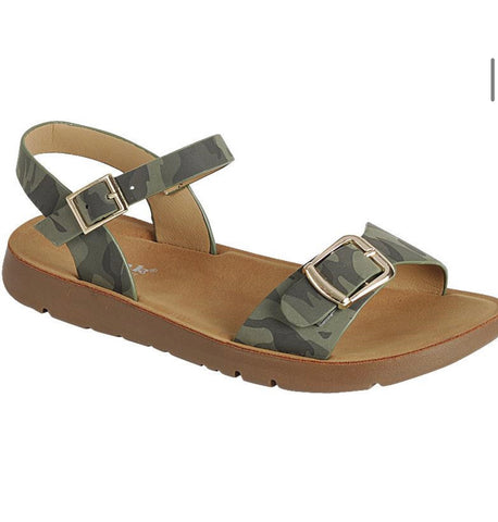 Camo Sandal - toddler/kids