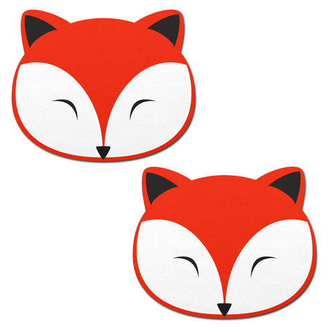 Foxy: Fox Face Nipple Pasties