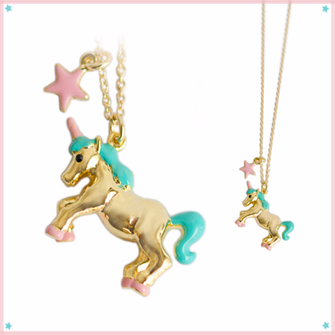 Charming Unicorn Necklace