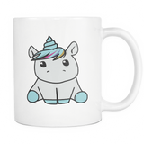 Drinkware - Cute Unicorn White Coffee Mug