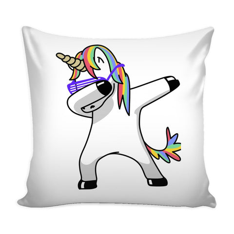 Pillows - Dabbing Unicorn Pillow Case