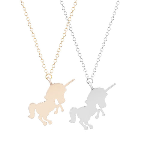 Sterling Unicorn Necklace