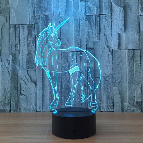 Unicorn Multi-Color Changing Night Light