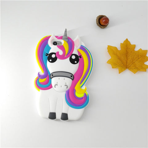 Rainbow Unicorn Case for Apple iPhone