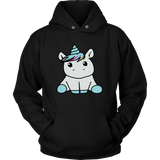 T-shirt - Cute Unicorn Women's Hoodie