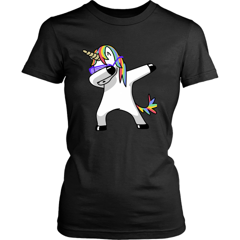 T-shirt - Dabbing Unicorn Women's T-Shirt