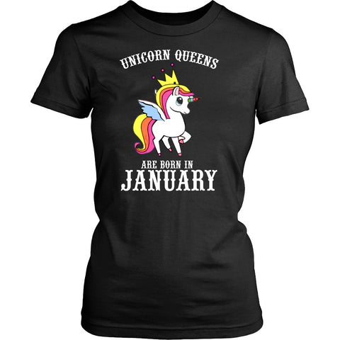 T-shirt - Unicorn Queens Are Born In January Women's T-shirt