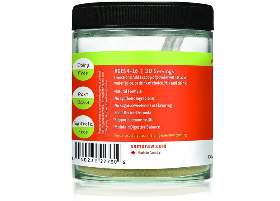 5 x Samuraw Organic Complete for Kids & Teens - 25% OFF - Samuraw Nutrition