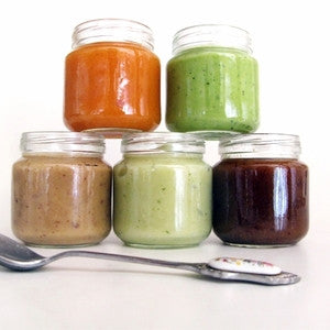 Guide to storing and serving your homemade baby food