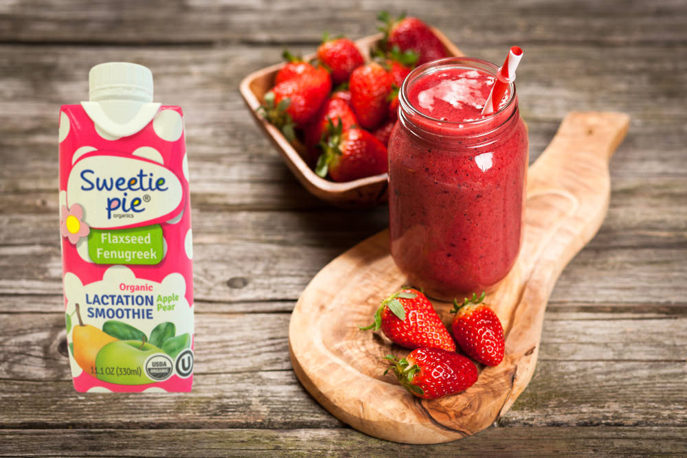 5 Best recipes for lactation smoothie that works (breastfeeding)