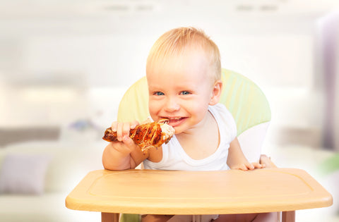 Introducing meat to your baby