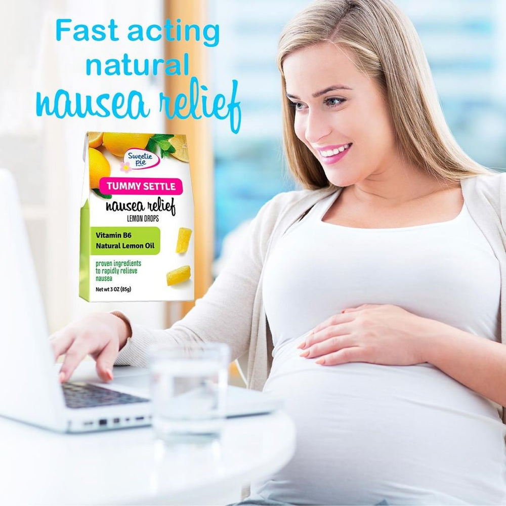 Morning sickness nausea relief drops LEMON & VIT B6