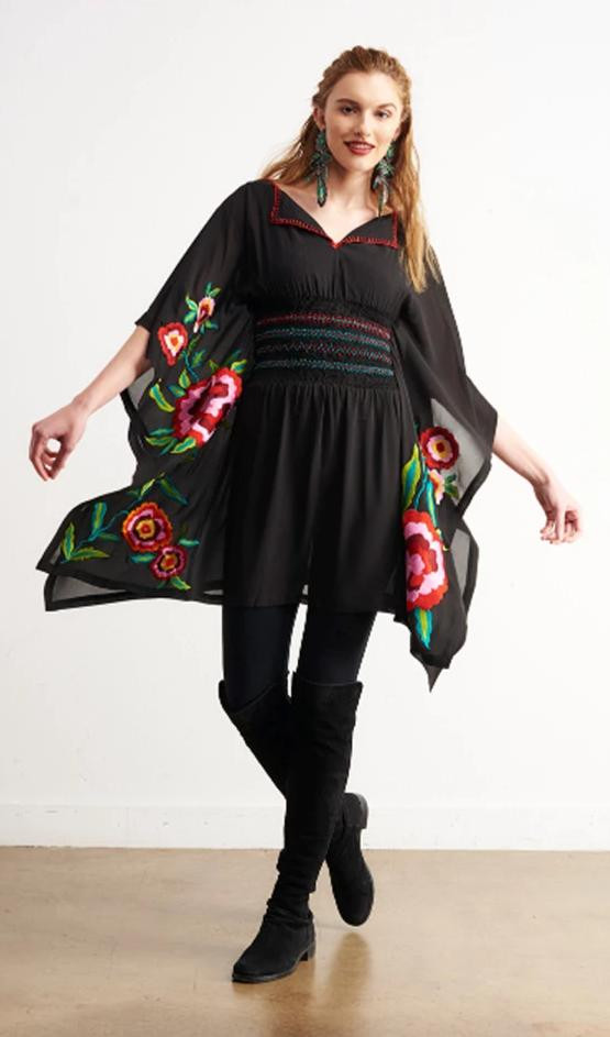 ROJA COLLECTION ACAPULCO PONCHO on SALE