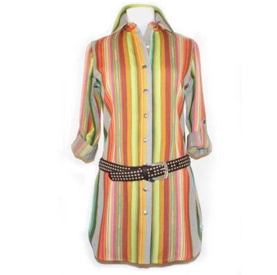 Silverado Short Dress in Algeria Serape