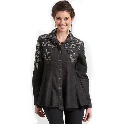 Roja Black Amarillo Shirt