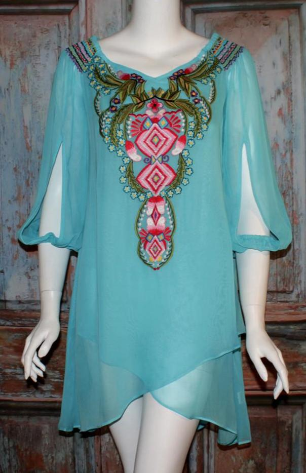 Vintage Collection Aqua Marine Tunic