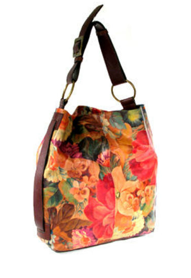 Mira Flores Floral Hobo