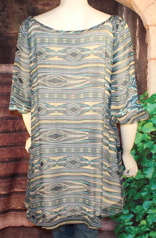 Vintage Collection Peace Pipe Tunic