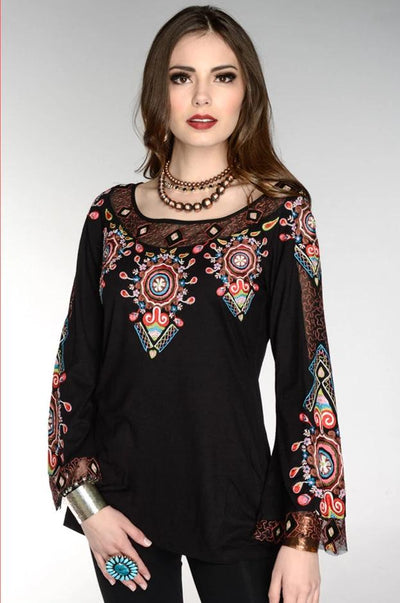 Vintage Collection Iris Bell Sleeve Top on SALE