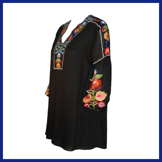 Vintage Collection Black Bette Tunic