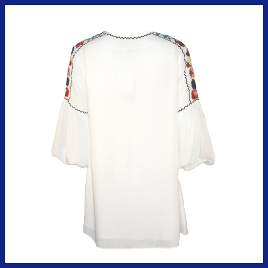 Vintage Collection White Bette Tunic