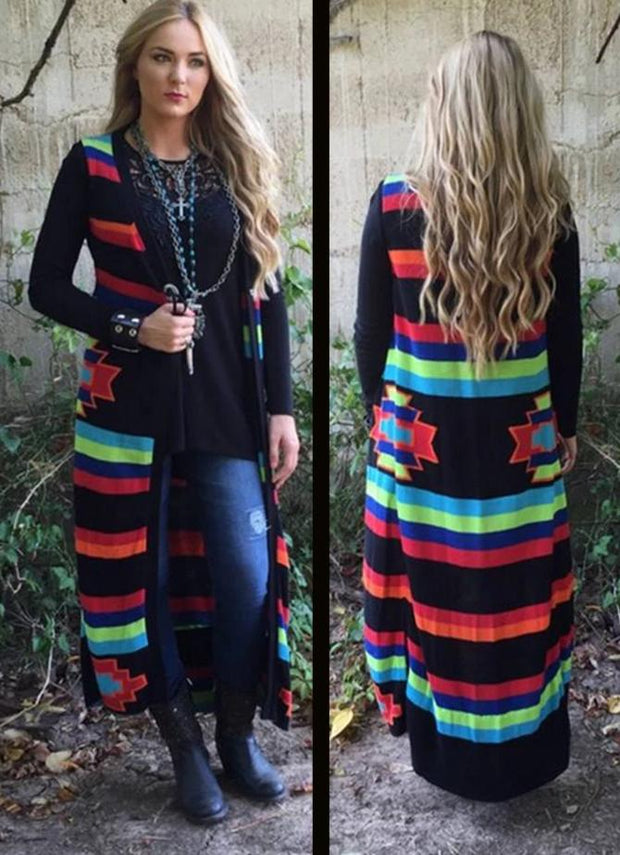 Roja Blanket Sleeveless Duster