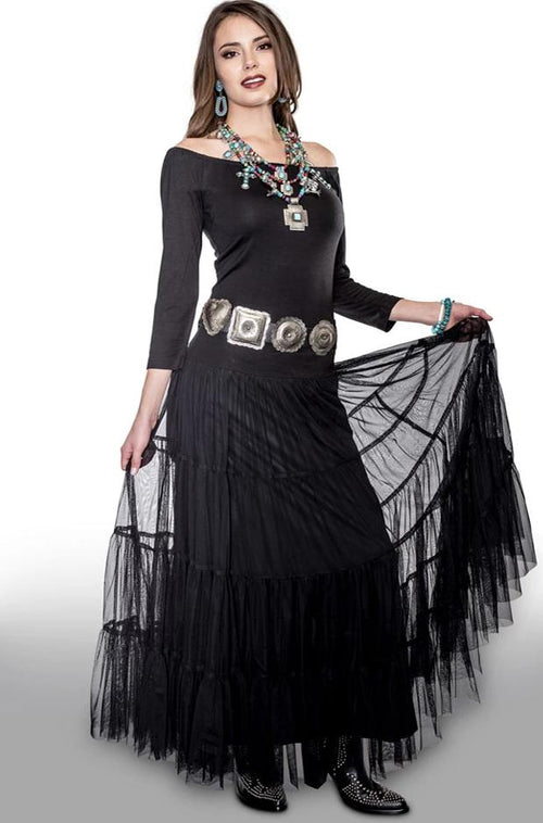 VINTAGE COLLECTION BLACK JEWELRY ACCESSORY DRESS
