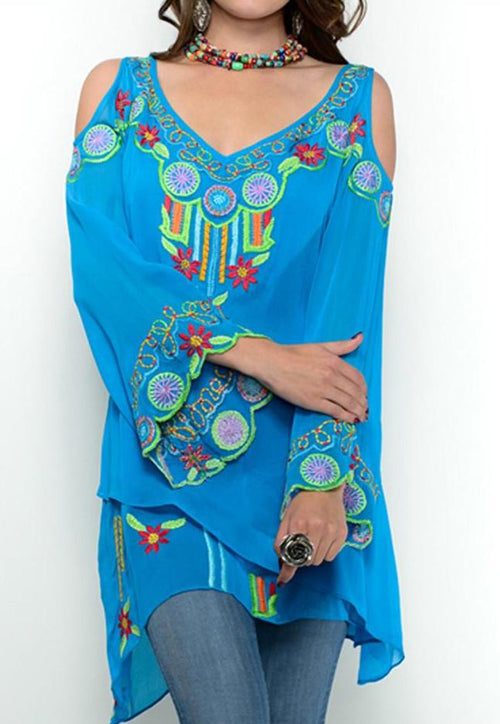 VINTAGE COLLECTION BLUEBELL TUNIC_on SALE