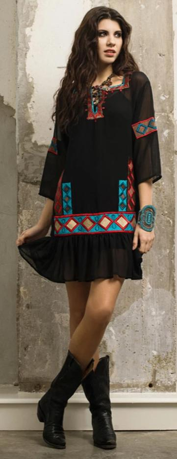 ROJA CHEYENNE CEREMONIAL DRESS on SALE