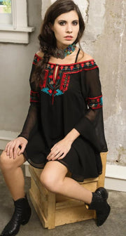 Roja Collection Cheyenne Fit And Flair Top