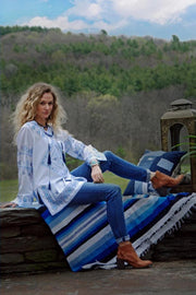 Tasha Polizzi Cowgirl Blues Shirt