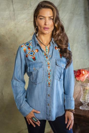 Vintage Collection Cross Western Shirt