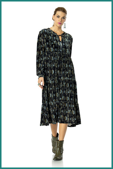 Double D Ranchwear Night Darkness Dress