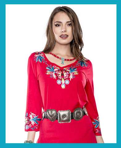 Vintage Collection Desert Flowers Tunic on Sale