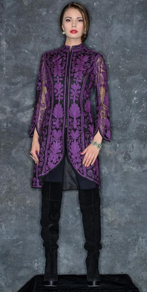 Vintage Collection Majestic Tunic Coat on SALE