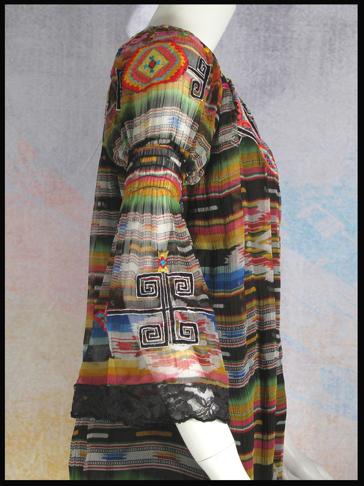VINTAGE COLLECTION RAINBOW SALTILLO TUNIC_Collectible