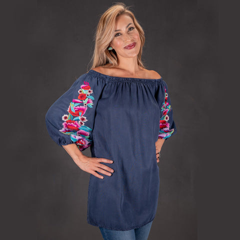 VINTAGE COLLECTION TOURMALINE TUNIC on SALE